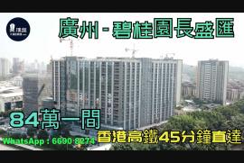碧桂園長盛匯_廣州 總價84萬 香港高鐵45分鐘直達 香港銀行按揭 (實景航拍)