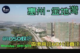 金地灣_惠州 @1050蚊呎 香港高鐵60分鐘直達 香港銀行按揭(實景航拍)