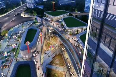 富馳大廈_深圳 香港高鐵17分鐘直達 18萬首期 香港銀行按揭 (實景航拍)
